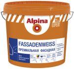 Краска Alpina EXPERT Fassadenweiss