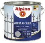 Эмаль Alpina Direkt auf Rost