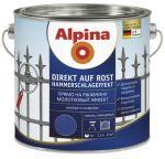 Эмаль Alpina Direkt auf Rost Hammerschlageffekt